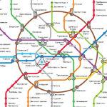 Интерактивная карта метро Москвы с расчетом времени
