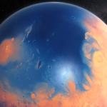 NASA: на Марсе мог существовать огромный океан
