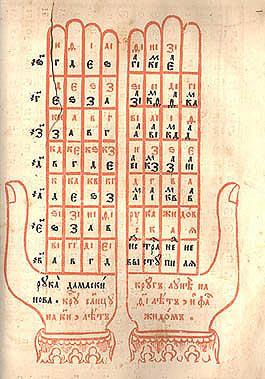Рука Иоанна Дамаскина: средневековый инструмент для вычисления дня Пасхи