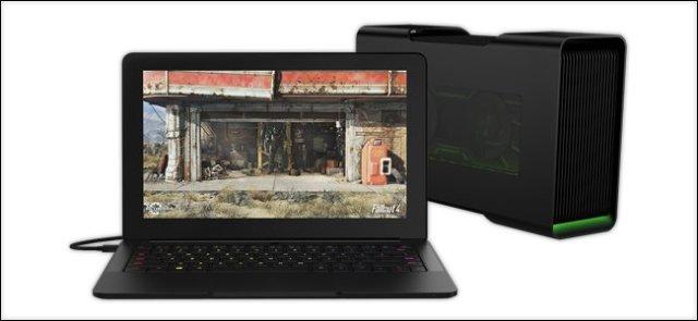 Адаптер для внешней видеокарты ноутбука
