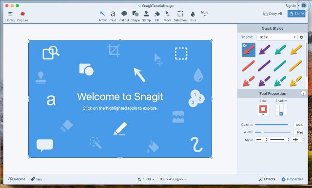 Программа для скриншотов SnagIt